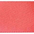 10mm Berisfords Satin Ribbon - Coral Colour 22