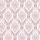 Tatton Dusky Pink Decorative Paper - Zoom