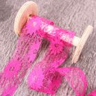 38mm Fuchsia May Arts Wide Lace Trim