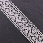 Wide Ivory Crochet Lace