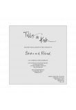 Pocket Card Inner Invitation Template product image