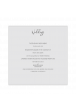 Milanese Wallet Lasercut Invitation Tier 1- Design 1 product image