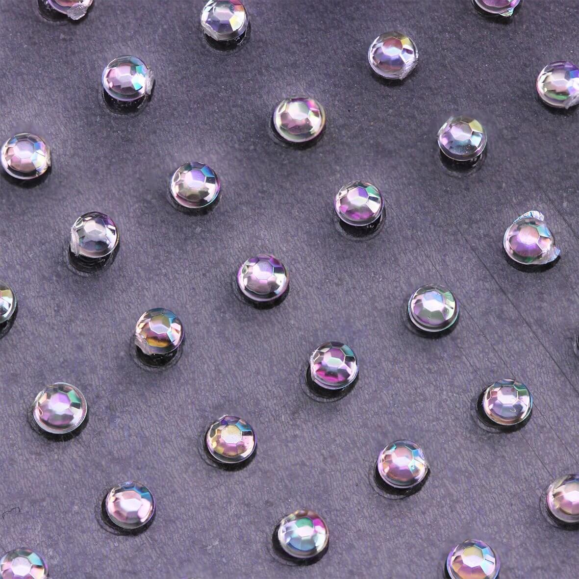 2mm AB Crystal Self Adhesive Diamantes - Zoom