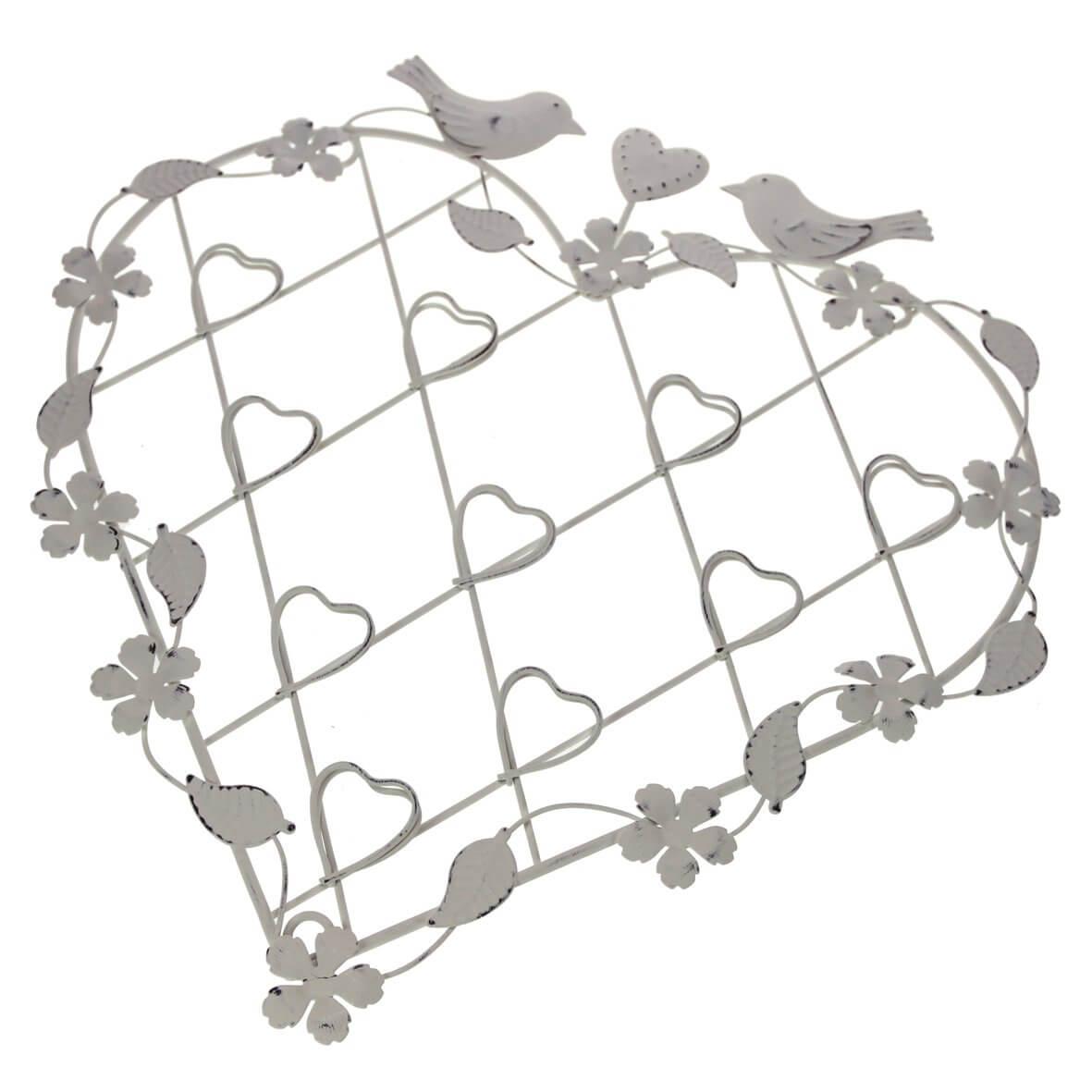 Vintage Heart Wirework Display Frames