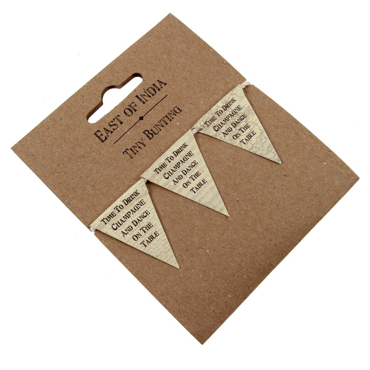 Retro Time to Drink Champagne Bunting