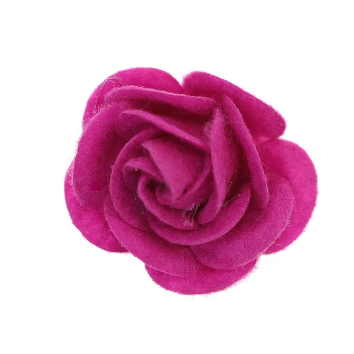 35mm Cerise Felty Rose