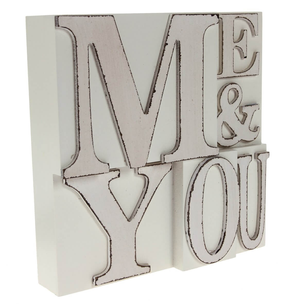 'Me and You' Wedding Block