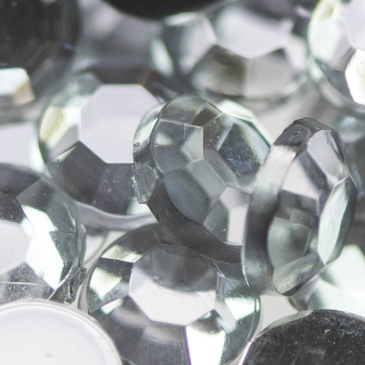4.5mm Acrylic Diamante Gems Wholesale Packs