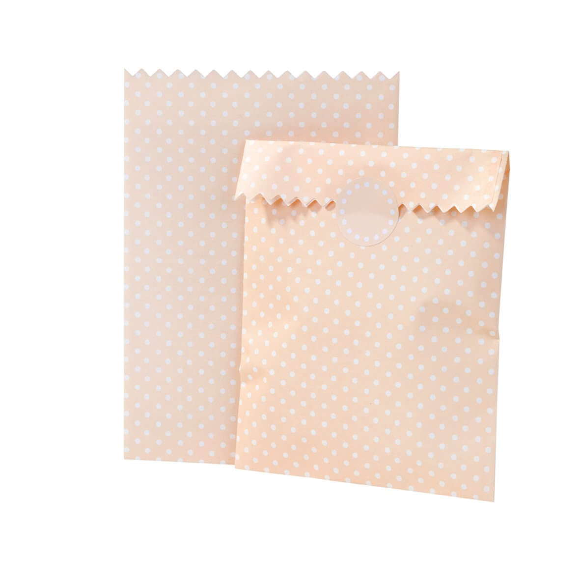 Mix and Match Treat Bags - Peach Spot
