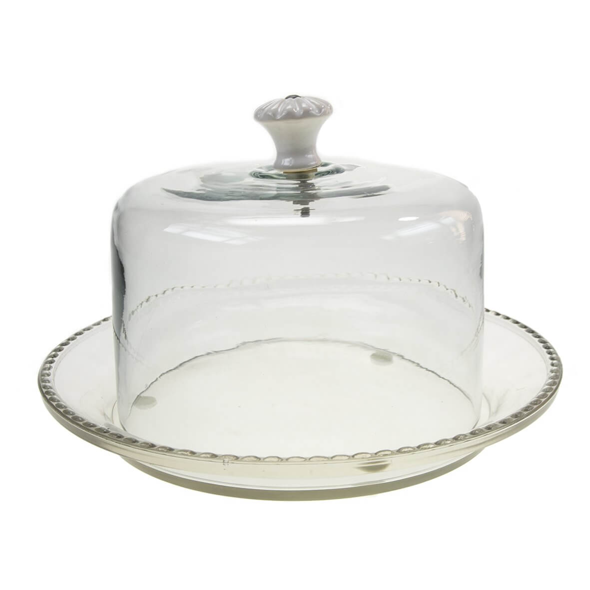 cake plate with dome glass dome cake plate wow vow 2273