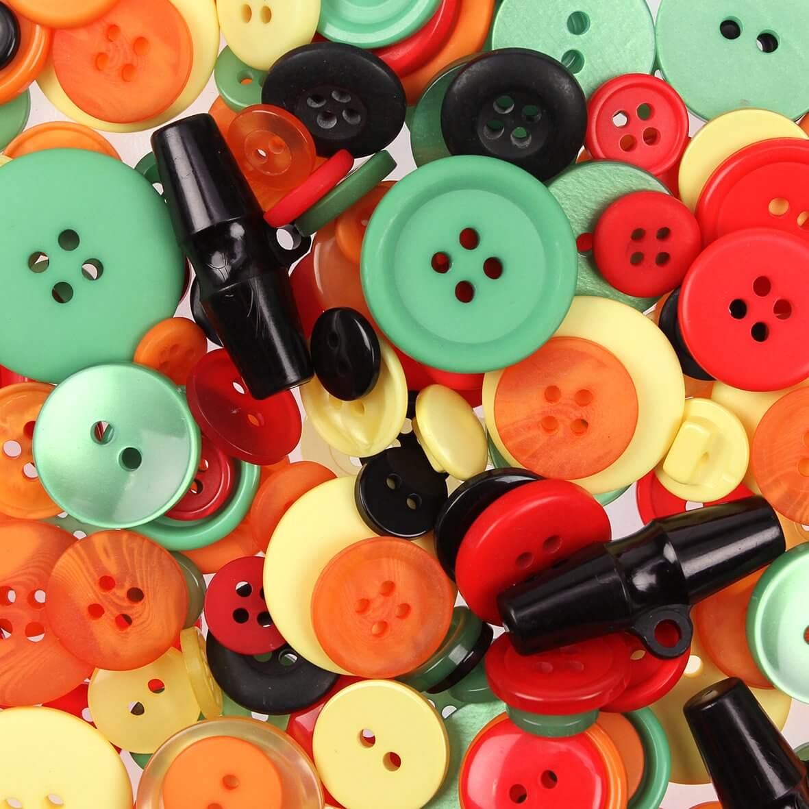 Tropical Mix Buttons 100gms