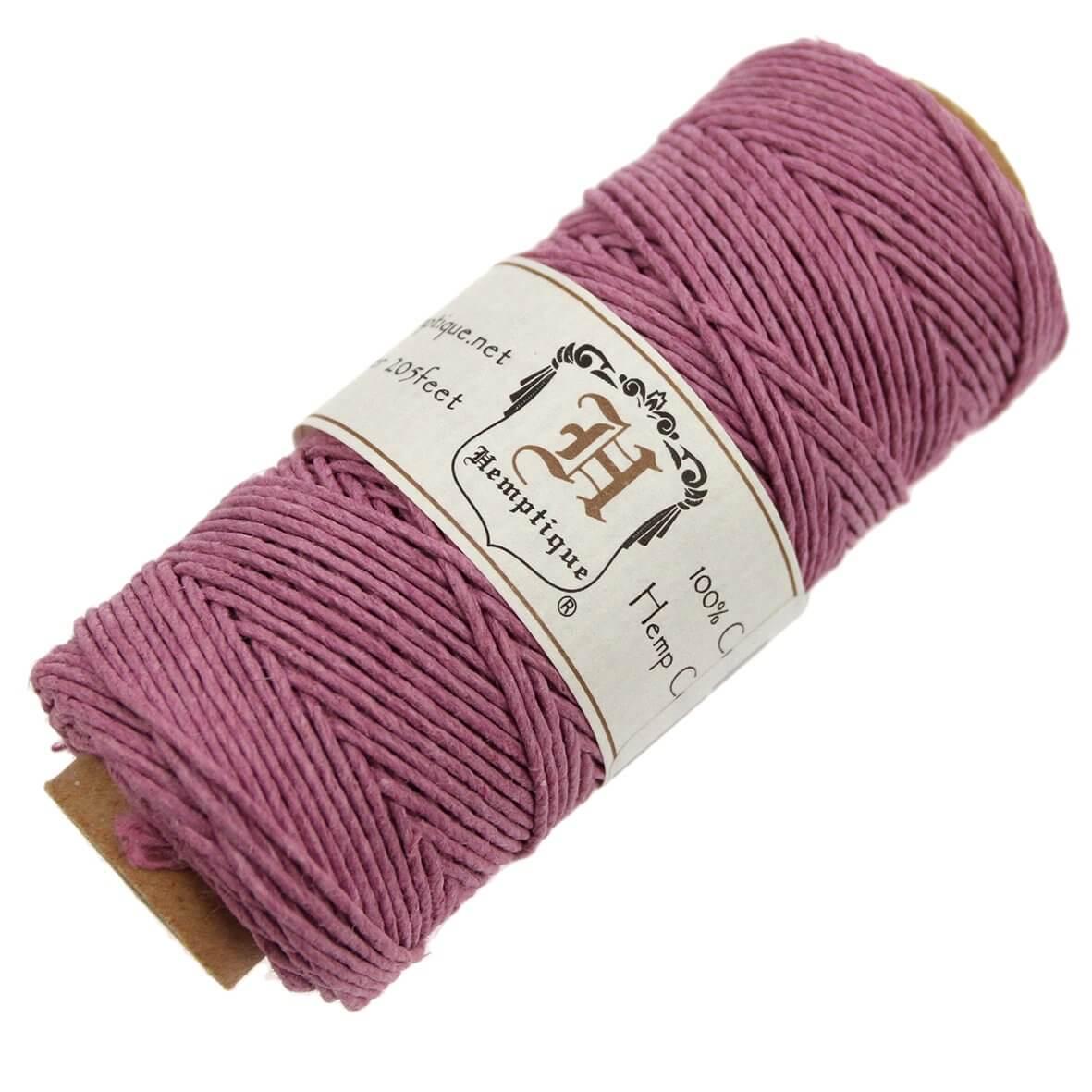 Hemptique Hemp Cord - Light Pink