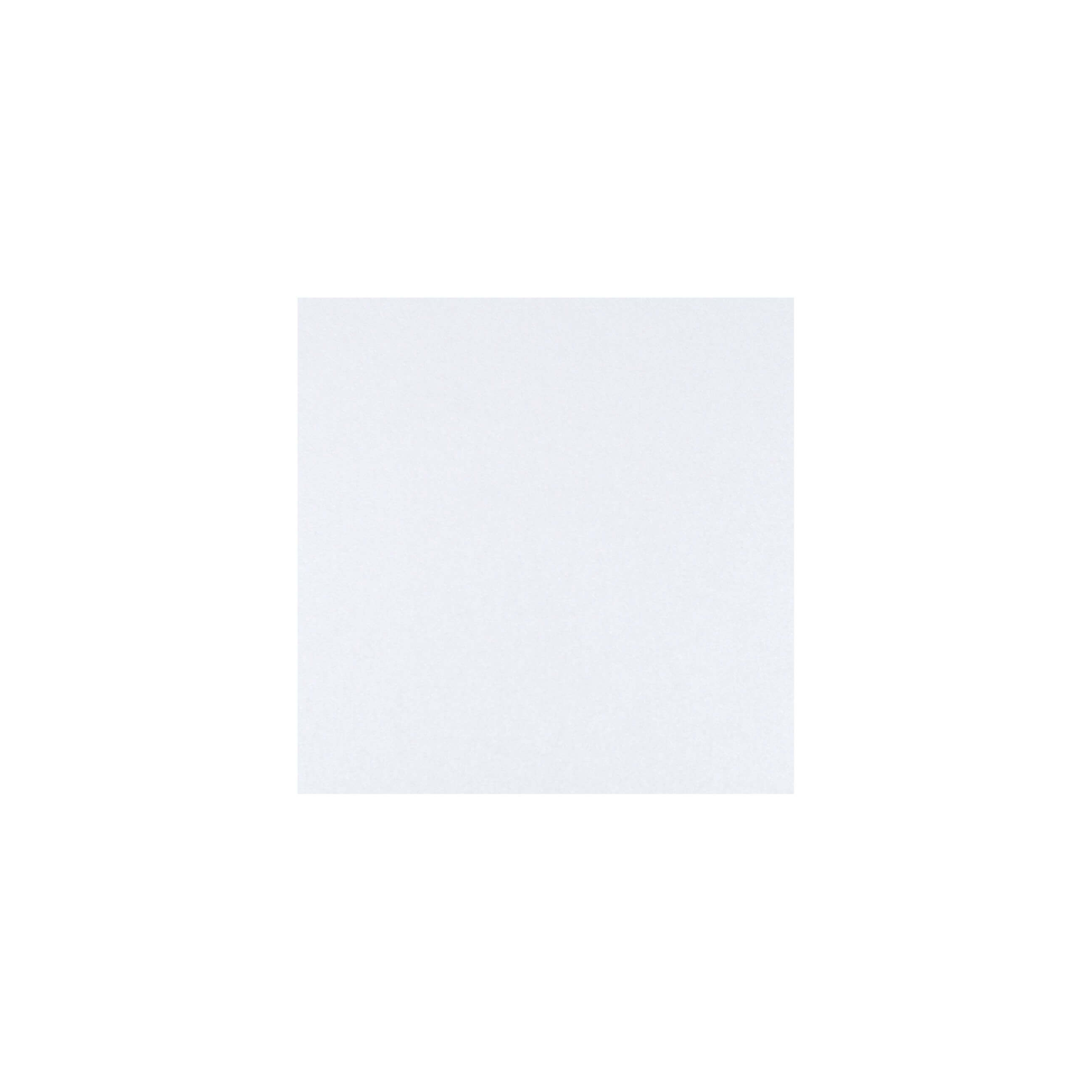 Cardstock 100mm Square - Crystal White