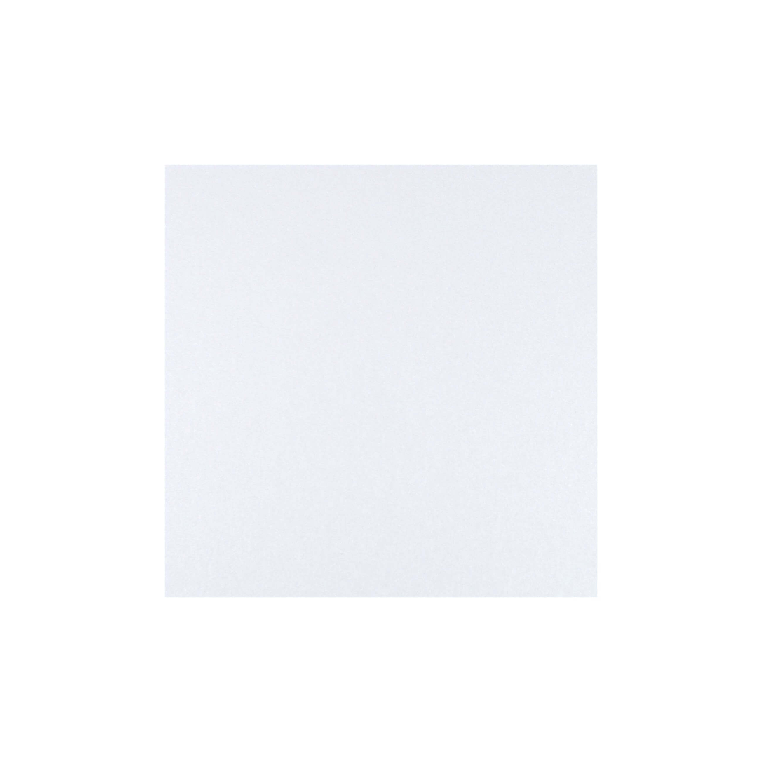 Cardstock 125mm Square - Crystal White