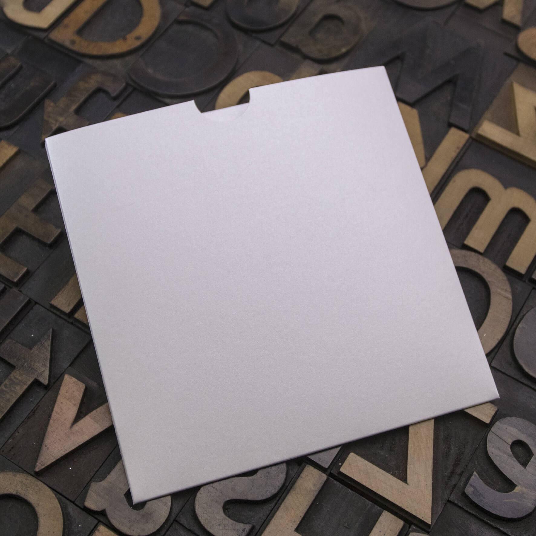 Enfolio Wallet 125mm Sq - Crystal White