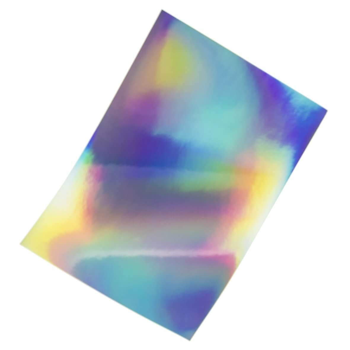 Mirri Rainbow Holographic A4 Card Wow Vow