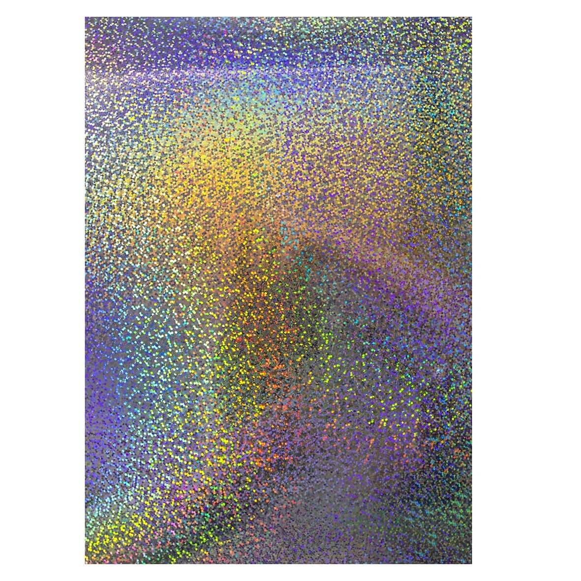 Mirri Confetti Holographic A4 Card | Wow Vow