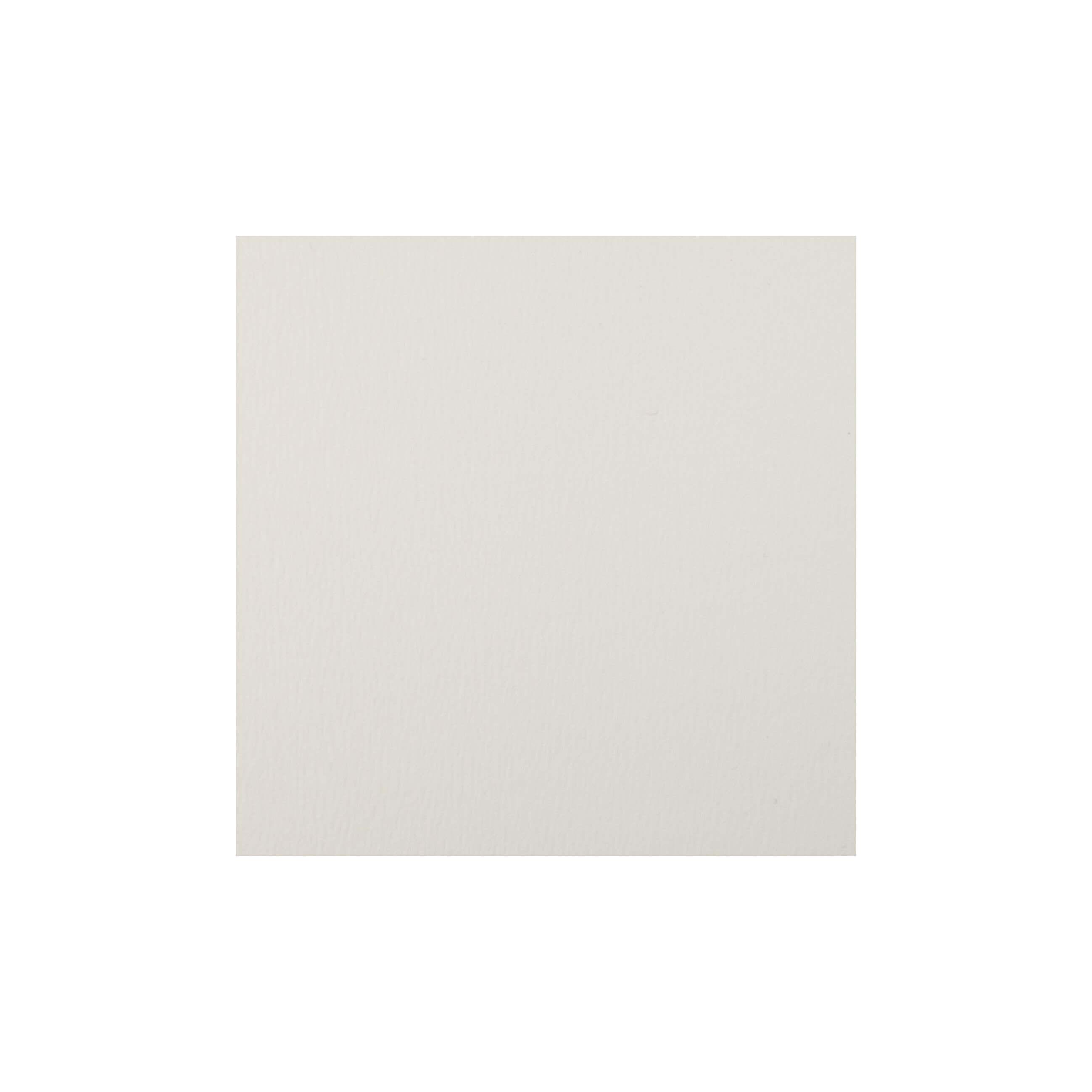 Cardstock 125mm Square - Antique Ivory