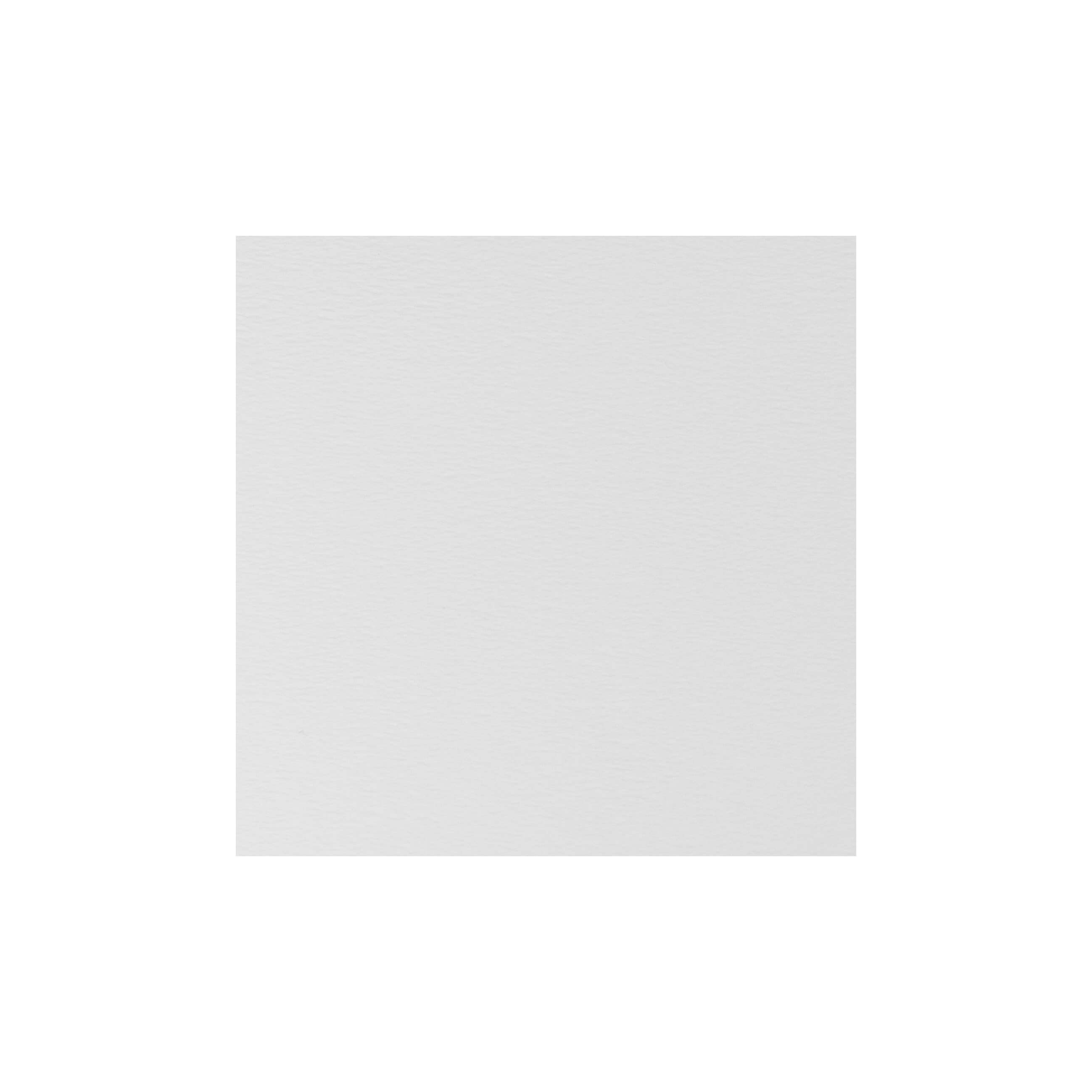 Cardstock 125mm Square - Antique White