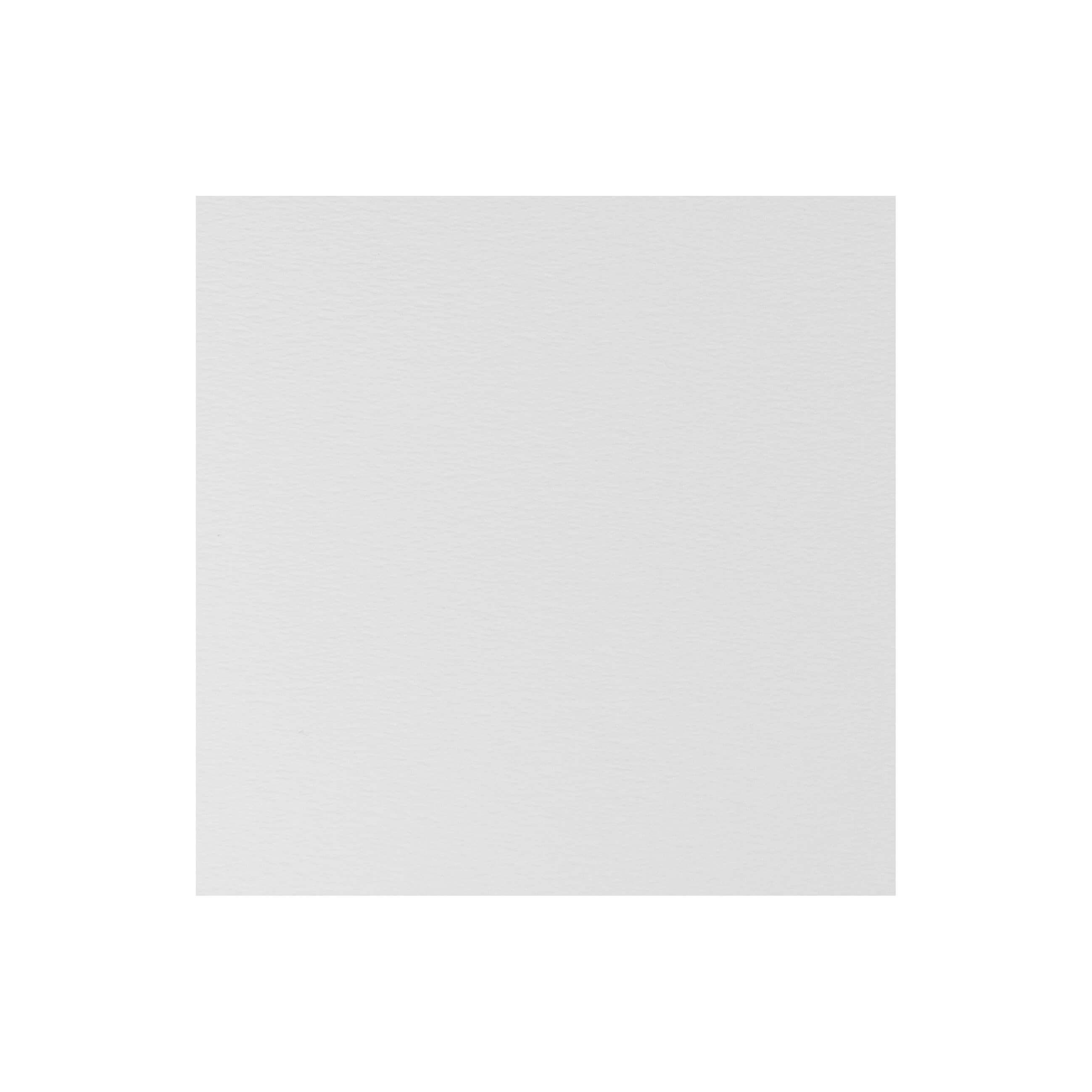 Cardstock 141mm Square - Antique White