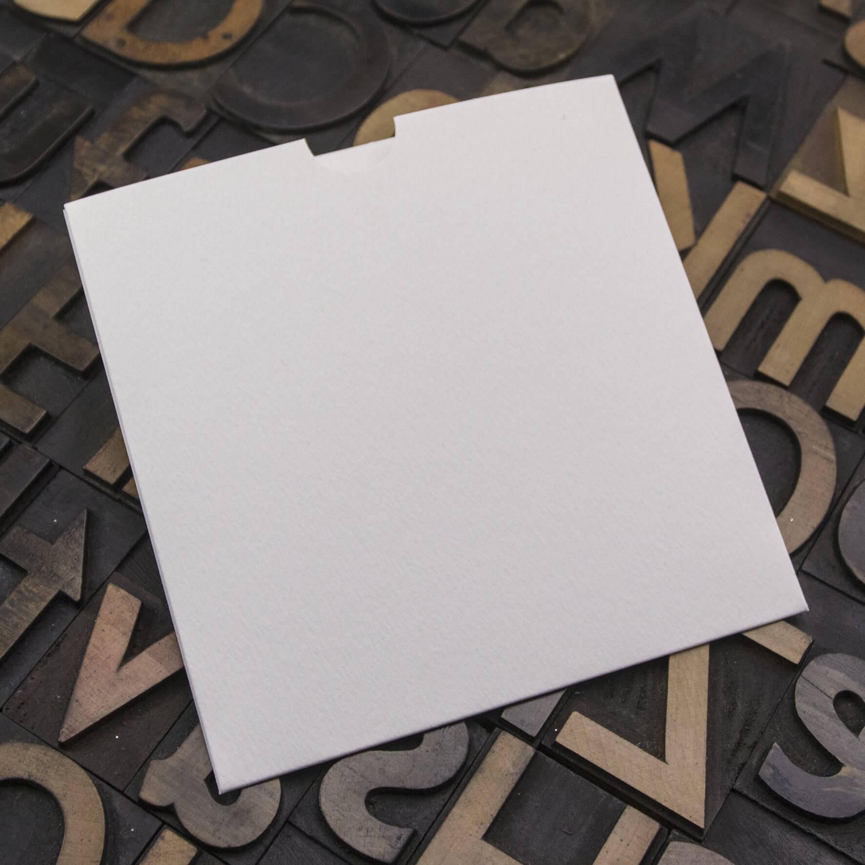 Enfolio Wallet 125mm Sq - Antique White