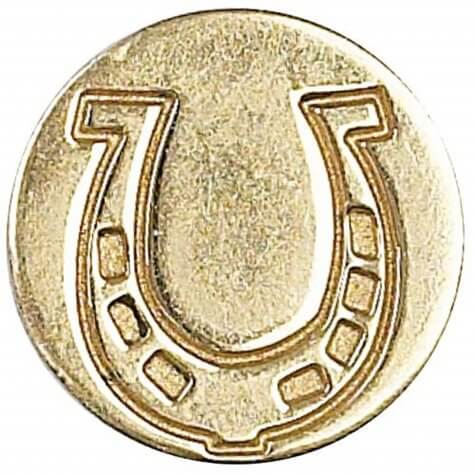 Decorative Coin Horseshoe