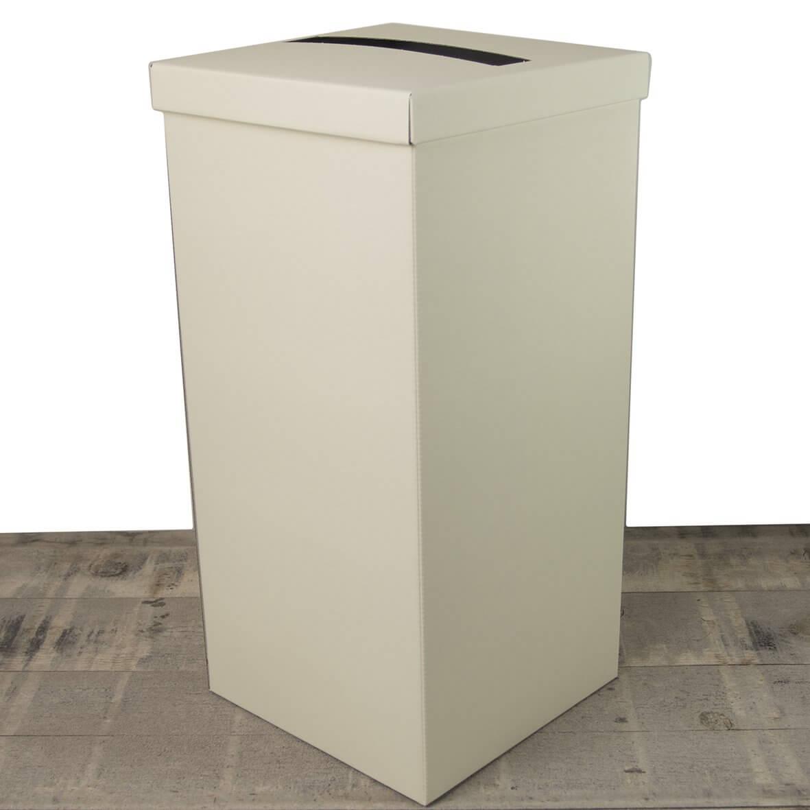 Ivory Silk Post Box