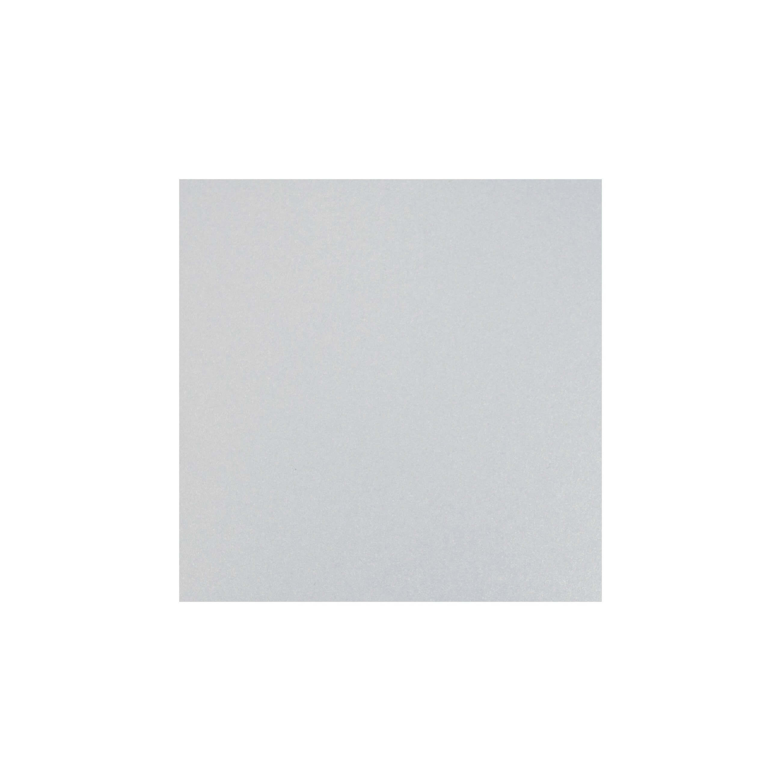 Cardstock 119mm Square - White Lustre