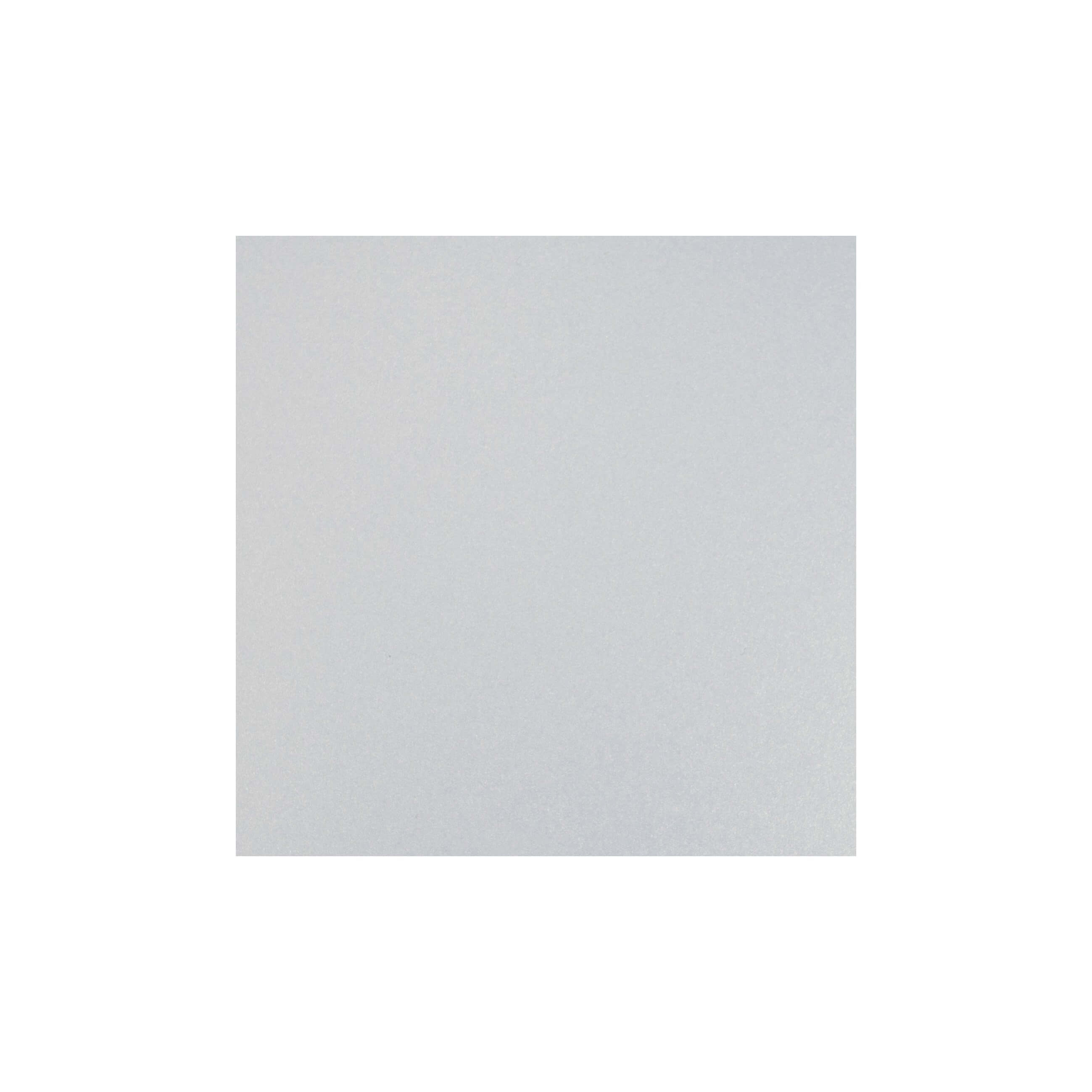 Cardstock 125mm Square - White Lustre