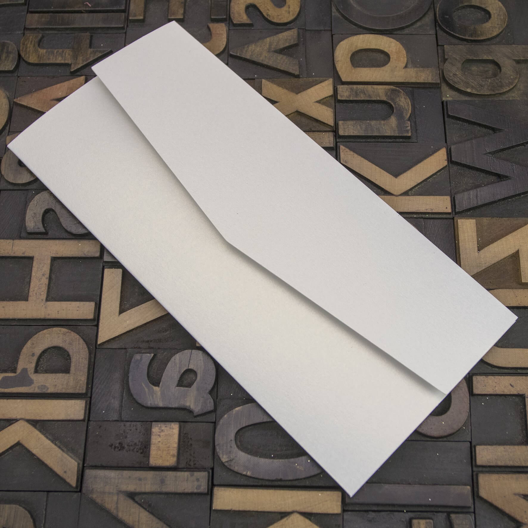 Enfolio Pocketfold (DL) - White Lustre
