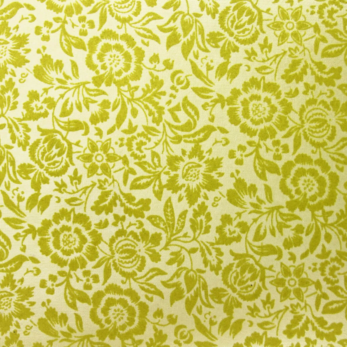 The Eastnor (Apple Green on Apple Green) A4 Flocked Paper.