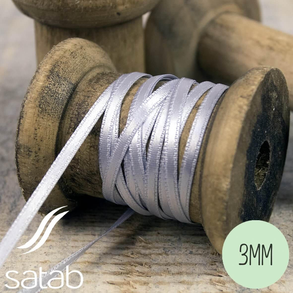 Satab Satin Ribbon 3mm