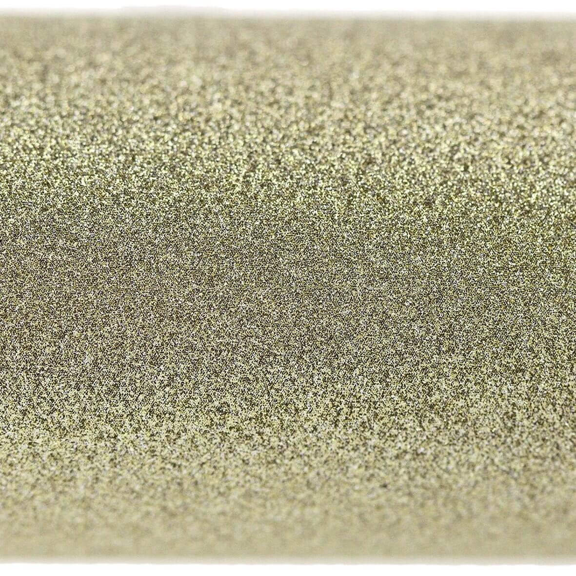 Luxe Cosmic Gold A4 Glitter Card - Zoom