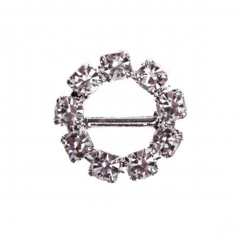 Circle Diamante Buckle (Mini)