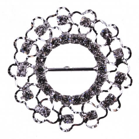 Diamante Lace Buckle