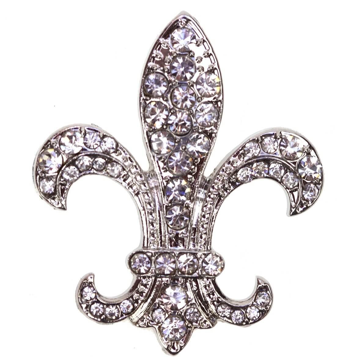 Fleur de Lis Diamante Embellishment