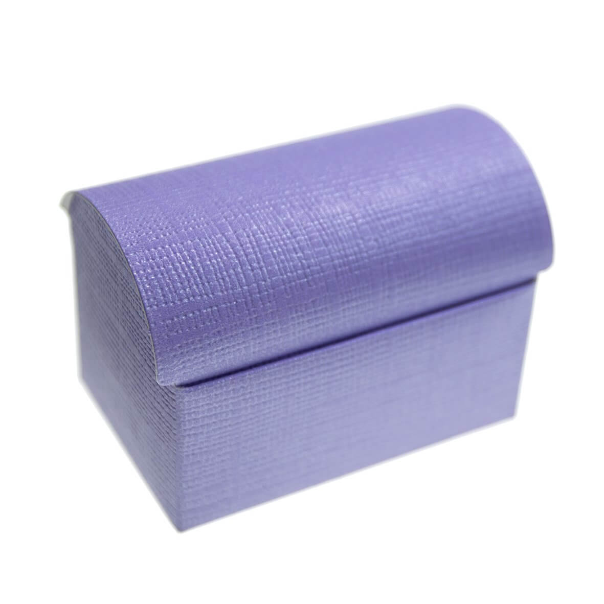 Lilac Silk Chest Favour Box (Pack of 10)
