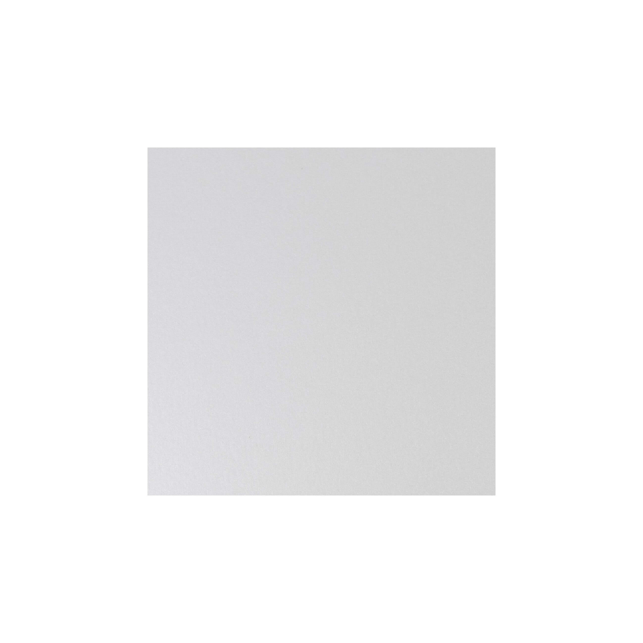 Cardstock 119mm Square - Pearlescent Ivory