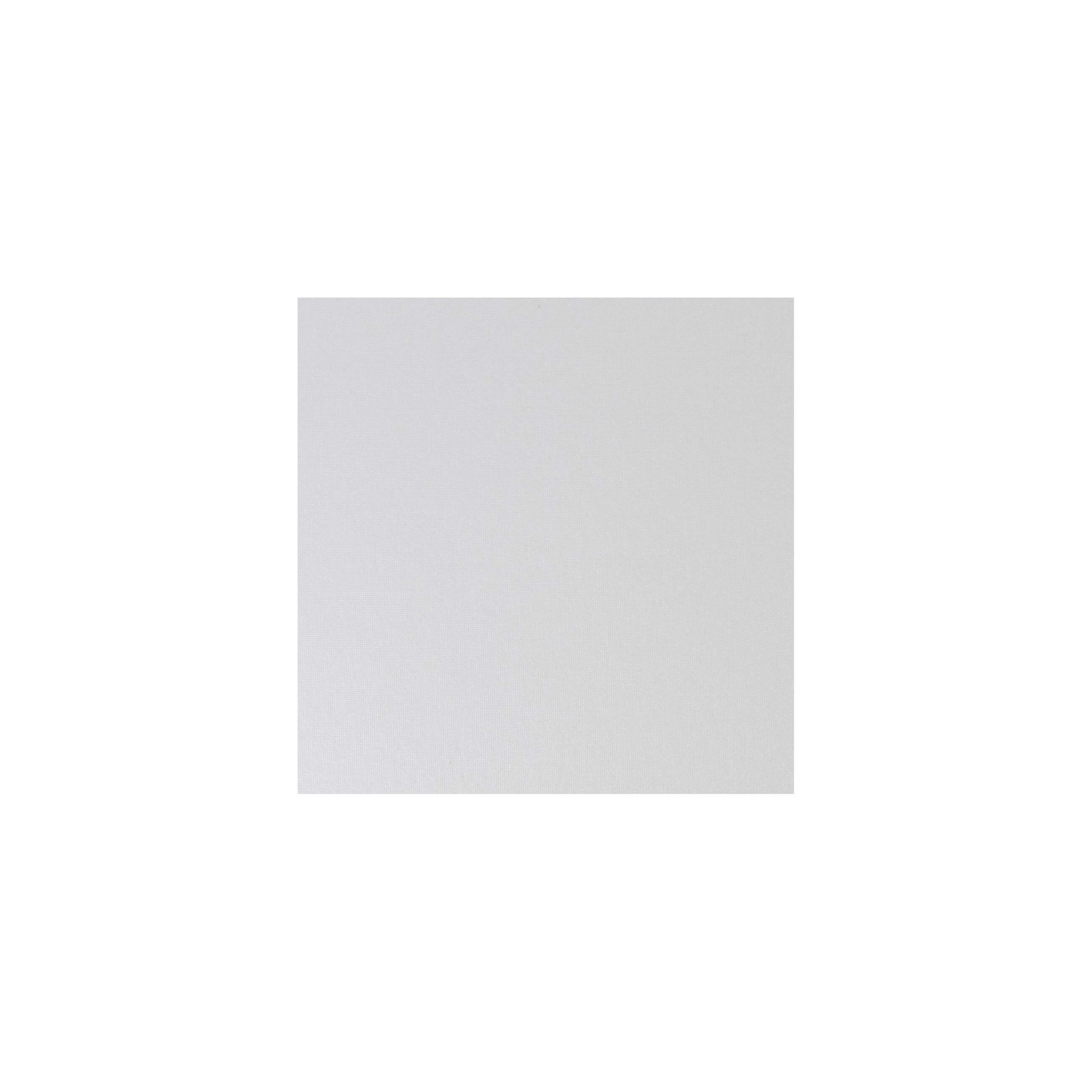 Cardstock 100mm Square - Pearlescent Ivory
