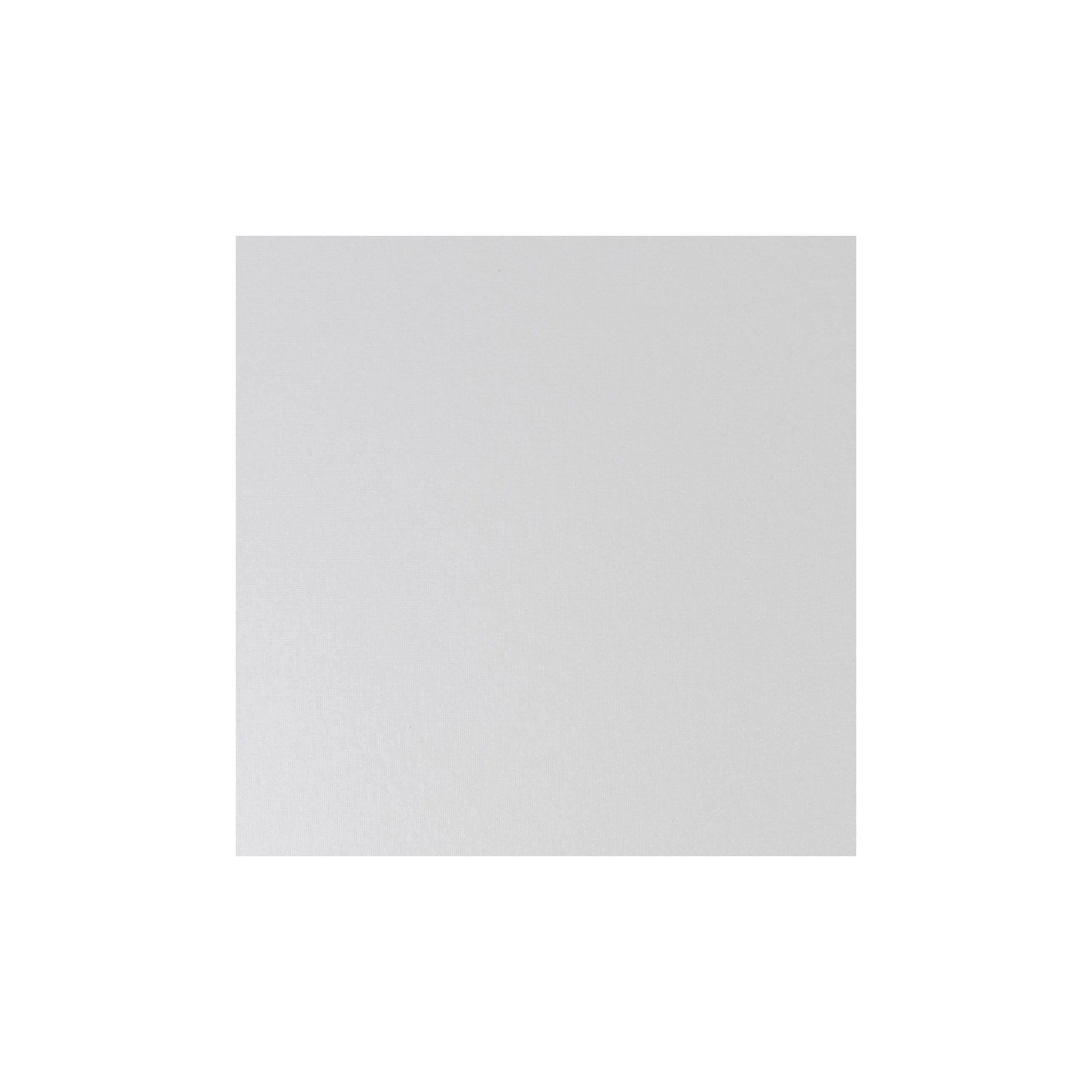 Cardstock 125mm Square - Pearlescent Ivory