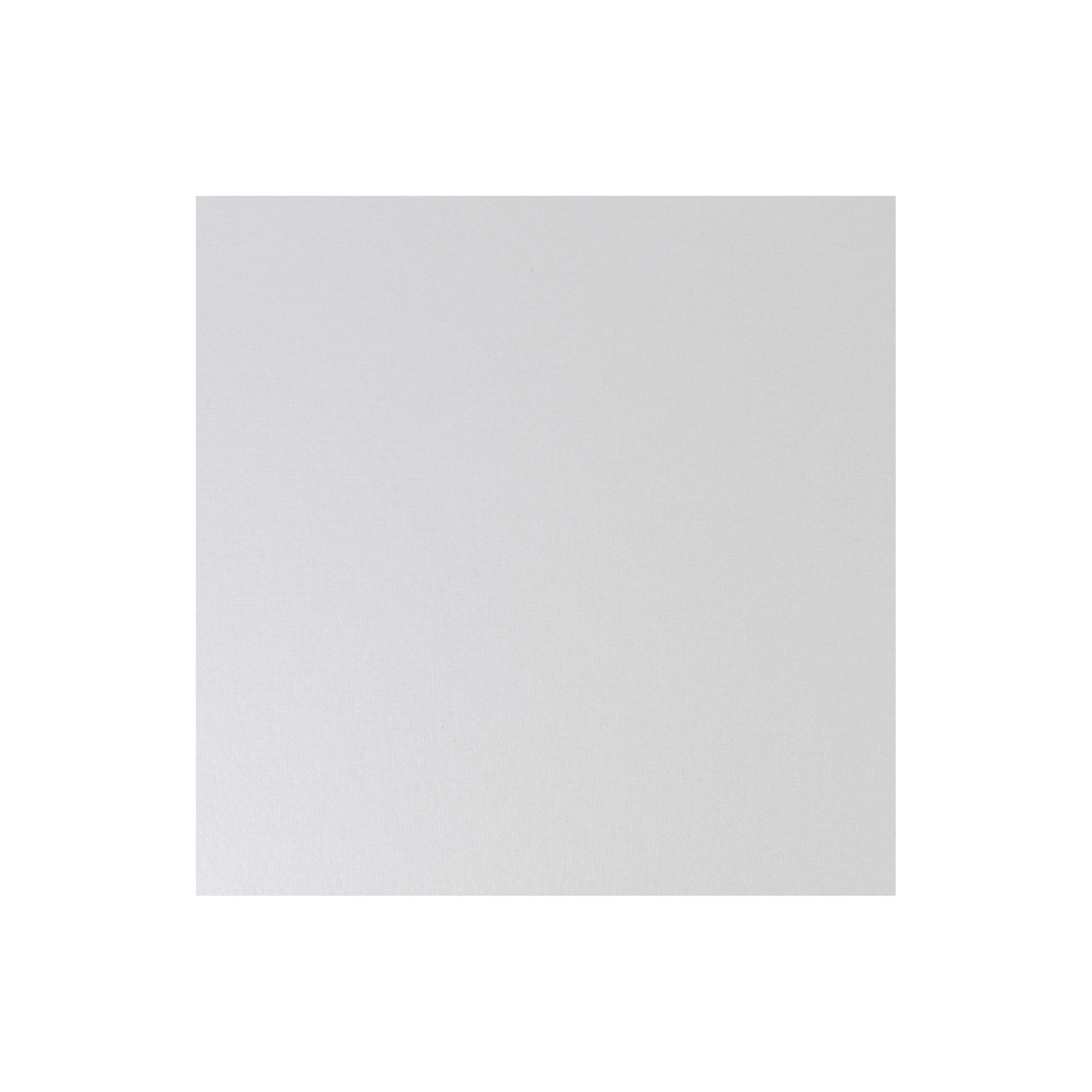 Cardstock 141mm Square - Pearlescent Ivory