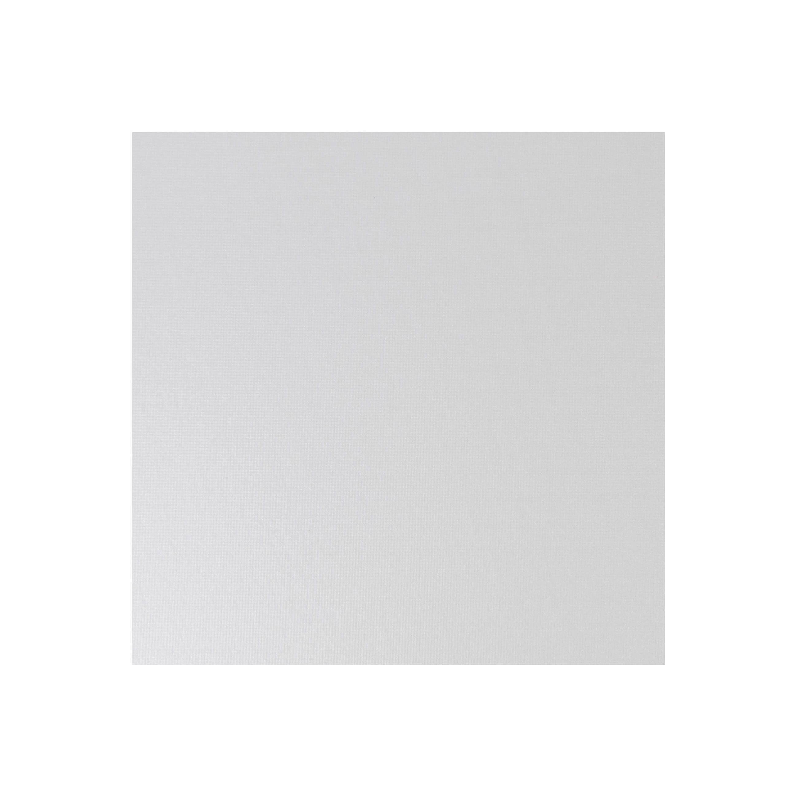 Cardstock 147mm Square - Pearlescent Ivory