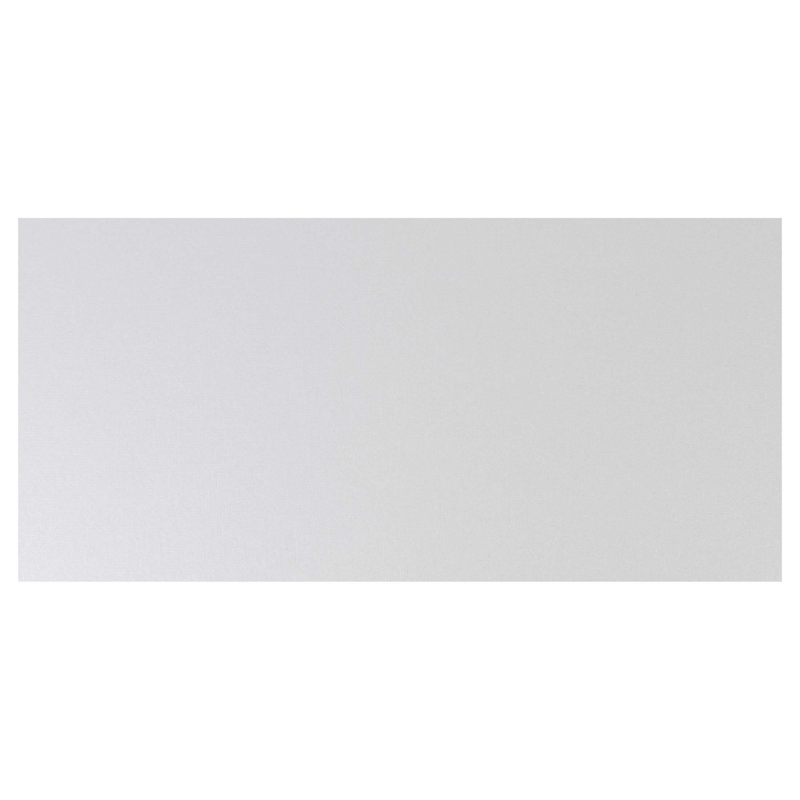 Cardstock DL Base - Pearlescent Ivory