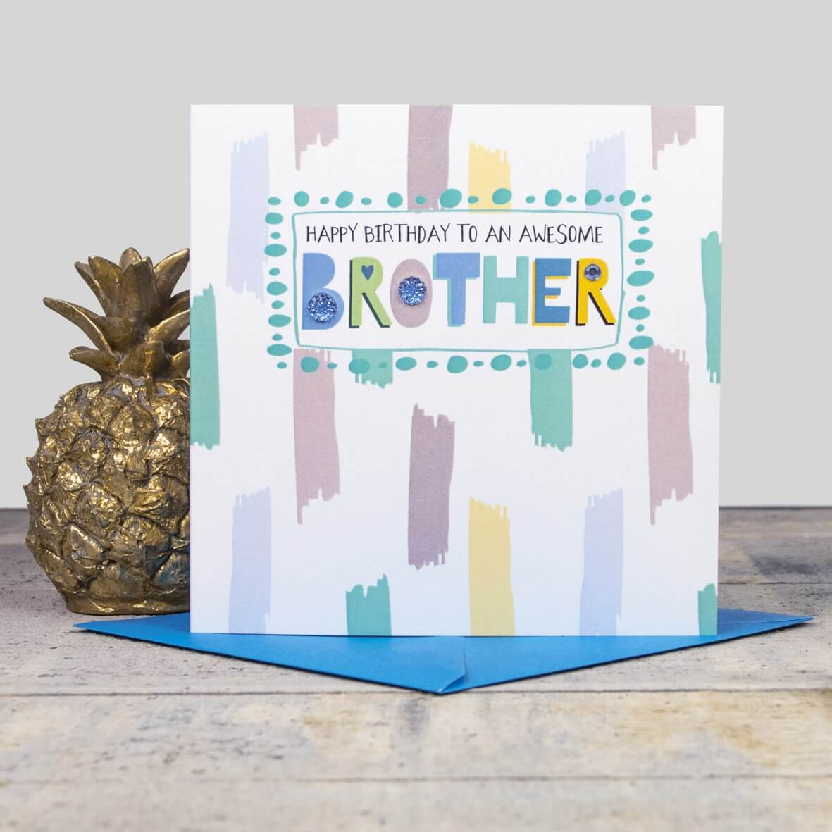 Awesome Brother - Happy Birthday Card