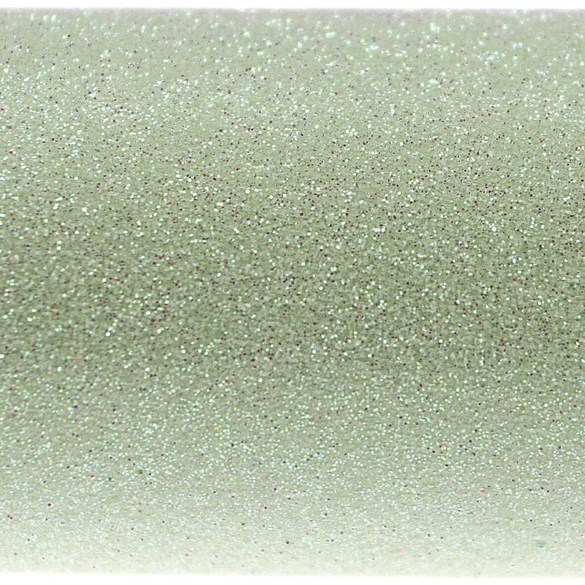 Iridescent Mint A4 Glitter Paper - Close Up