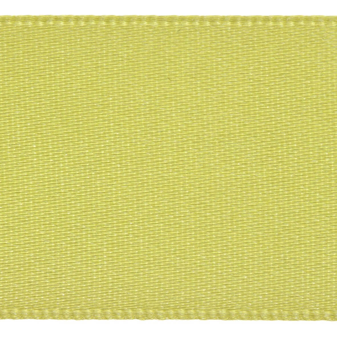 3mm Berisfords Satin Ribbon - Lemon Colour 5