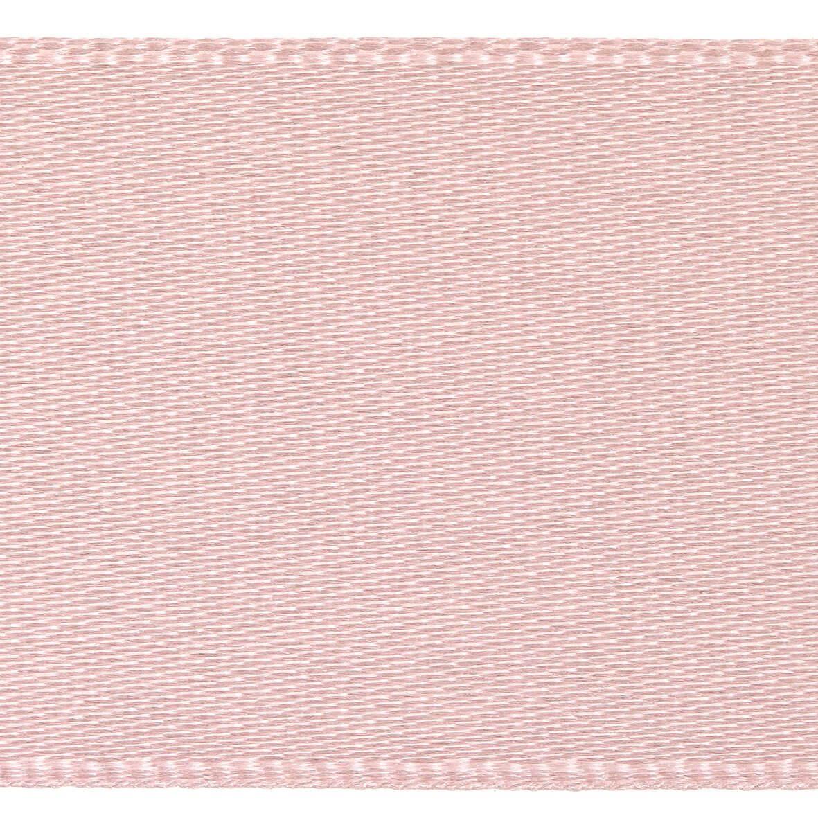 7mm Berisfords Satin Ribbon - Pale Pink Colour 70