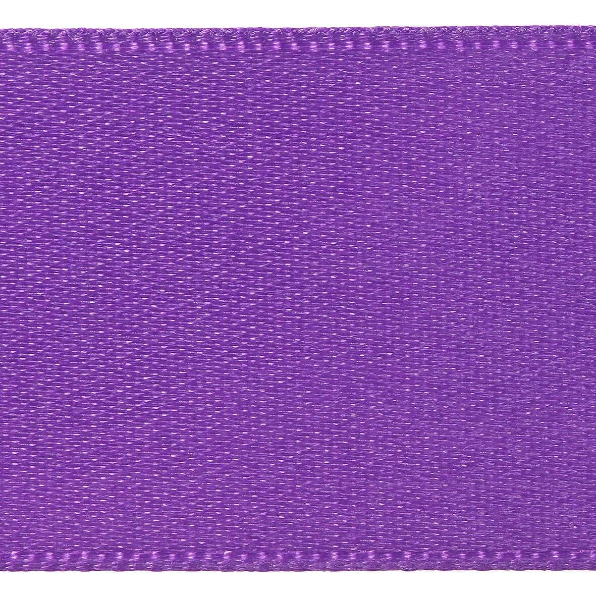 7mm Berisfords Satin Ribbon - Purple Colour 19