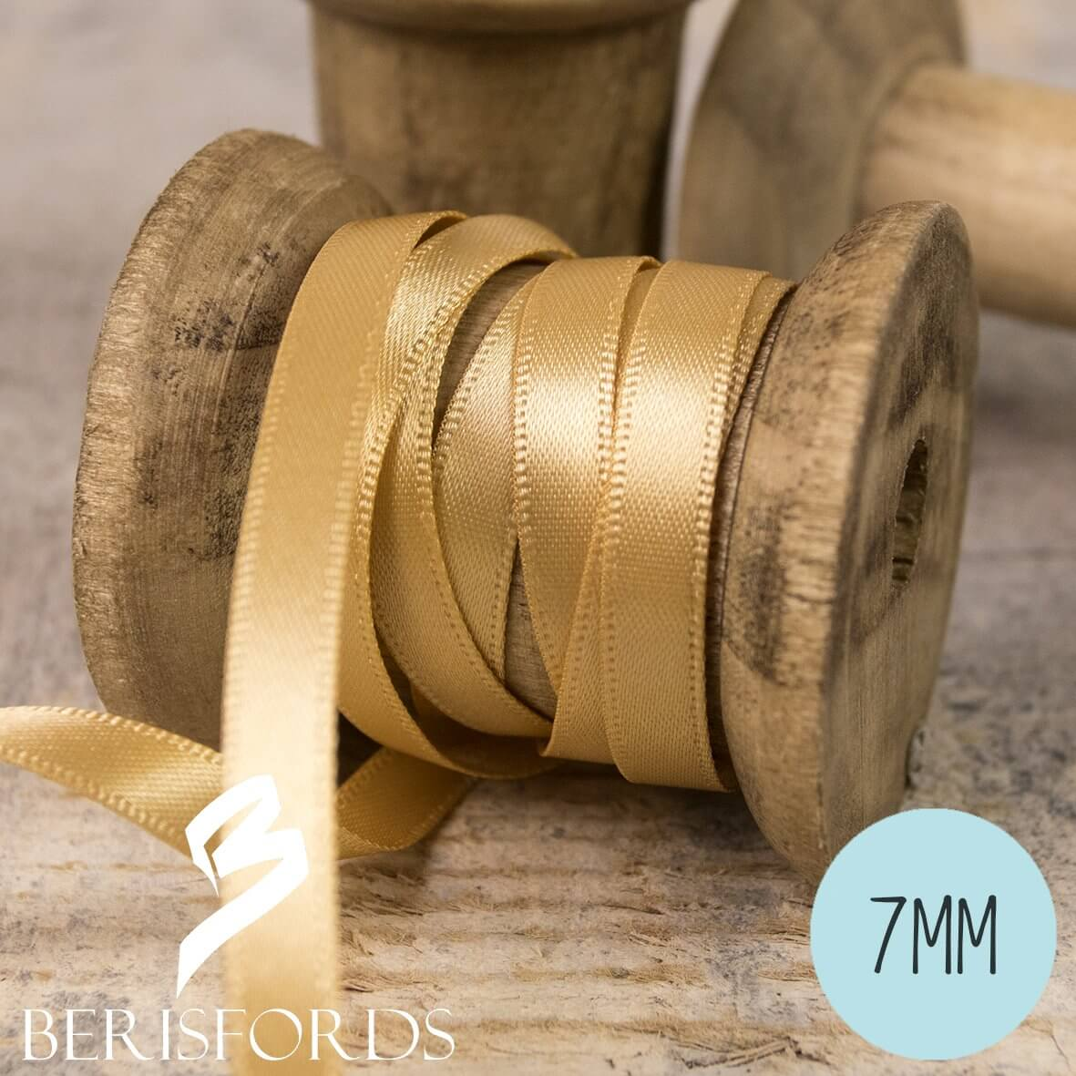 Berisfords Satin Ribbon 7mm