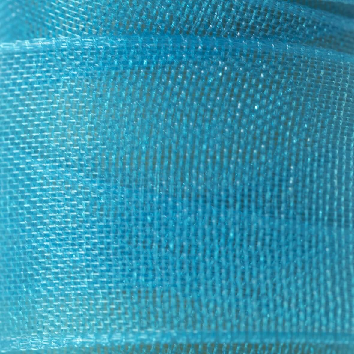 Turquoise Organza Ribbon 23mm from Club Green - Swatch